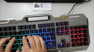 Review Bàn Phím Giả Cơ Langtu K006 Giá Sốc 420K