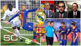 CLÁSICO. Victoria del REAL MADRID empañado por polémica arbitral: un posible penal al Barcelona | SC