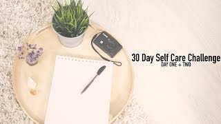 Pregnancy Announcement?! Day 01 + 02 || 30 Day Self Care Mindfulness Challenge || Vanessas Corner