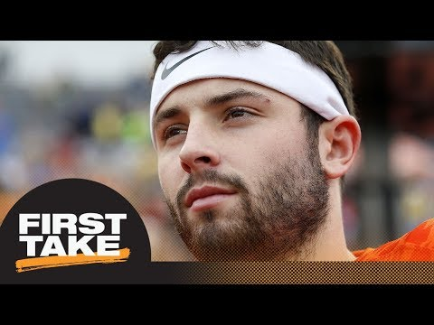 Mel Kiper buying Baker Mayfield hype with new 2018 NFL Mock Draft | First Take | ESPN