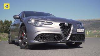 Alfa Romeo Giulia Veloce - Test de voiture
