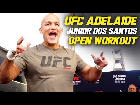 """Junior Dos Santos on Tai Tuivasa: """"I Can't Wait To Knock Somebody Out, And That's Gonna Be Him!"""""""