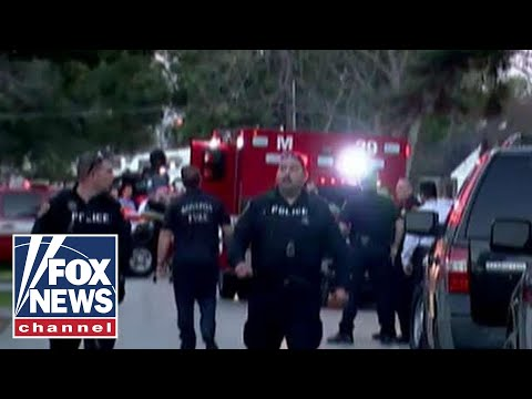 Five officers shot during standoff in Houston, Texas