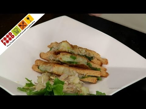 Healthy Sprout Sandwich | Food Food India - Fat To Fit | Healthy Recipes