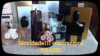 Novidade! Perfumes BRAND Collection Contratipos