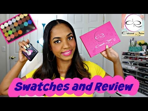 REVIEW & SWATCHES 💕 Coloured Raine Eyeshadows 💕 *ALL 28 SHADES*