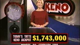 Peter Hitchener reporting. Nikki McCarthy hosting the Keno draw and...