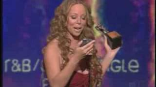 Mariah Carey receiving Best R&B Female Artist award @ Soul Train Awards 2006