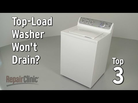 Top 3 Reasons Top-Load Washer Won't Drain?