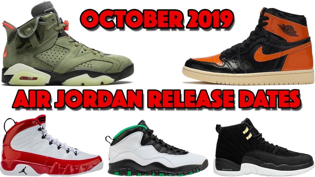 new air jordan releases