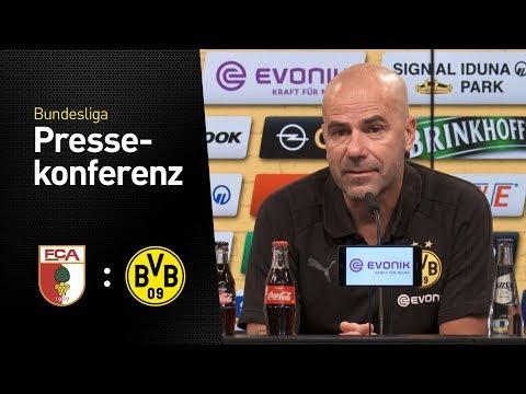 "Peter Bosz: ""Der Akku ist voll!"" | FC Augsburg - Borussia Dortmund"