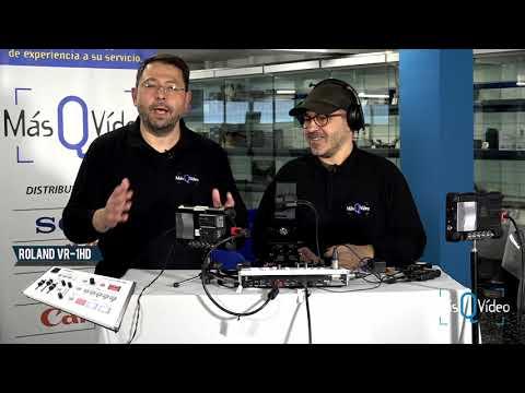 Roland VR-1HD: El Mezclador De Vídeo Más Divertido Del Mercado