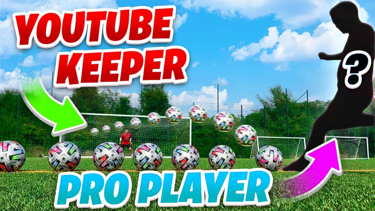 Download PRO MANCHESTER UNITED PLAYER VS YOUTUBES BEST KEEPER! 🤯🧤