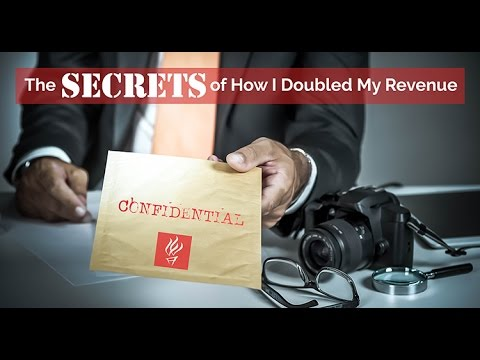 The Secrets of How I Doubled My Revenue