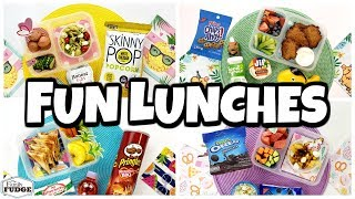 NEW Fun Lunch Ideas! 🍎 Fixing YOUR Lunches