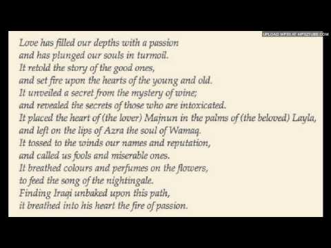 "Fakhr al-Din al-Iraqi - ""Love Has Filled Our Depths"""