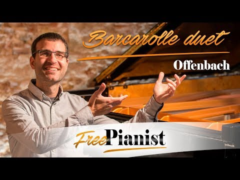 Barcarolle duet - KARAOKE / PIANO ACCOMPANIMENT - Les Contes d'Hoffmann - Offenbach
