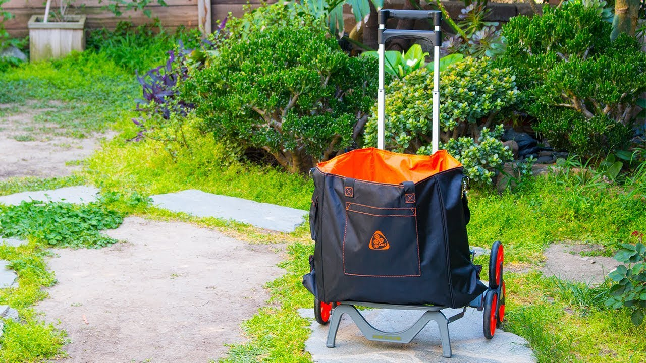 How To Secure The UpGrade Bag To Your UpCart   UpCart Stair Climbing Carts