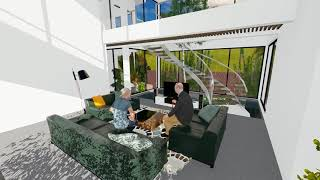 Dự án biệt thự Kiêu Kỵ Villa - 3D Render   3T Group   3TGroup