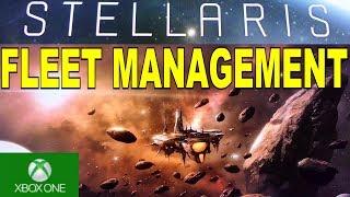 STELLARIS CONSOLE FLEET MANAGEMENT XBOX ONE X