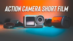 How To Shoot A Short Film With An ACTION CAMERA | BEHIND THE SCENES