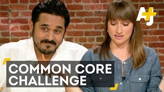Adults Take 8th Grade Common Core Math Test