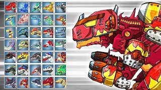 Dino Robot Battle Arena: Fire Tyrannosaurus Hellfire Igniter (assembly   Fights) | Eftsei Gaming