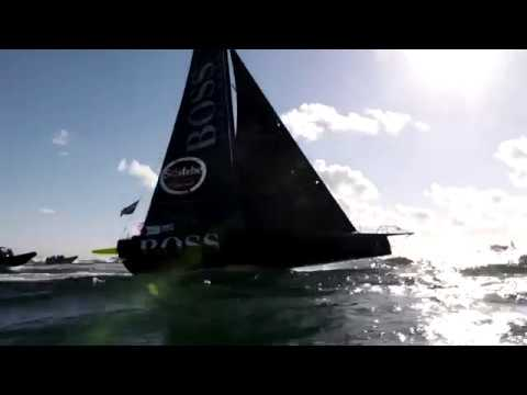 Highlights of Alex Thomson's recordbreaking part in the Vendée Globe 201617