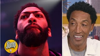 'He's playing for MVP' - Scottie Pippen on why Anthony Davis shouldn't take it easy | The Jump