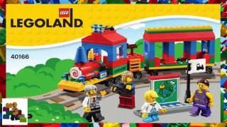 конструктор Lego LEGOLAND Train 40166 обзор