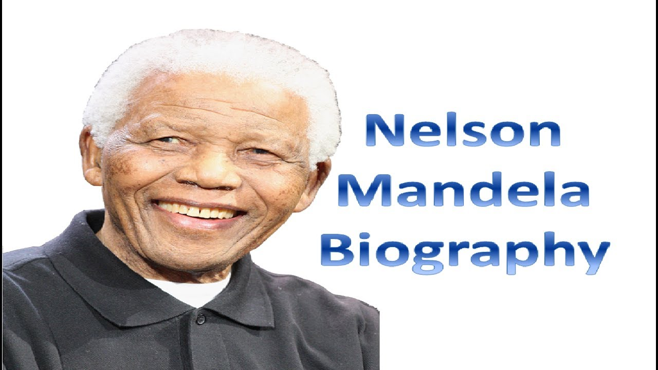 short biography on nelson mandela By: legacy staff 4 years ago nelson mandela lived a life that inspired the world  here are 20 of our favorite facts about the great leader 1 mandela was born.