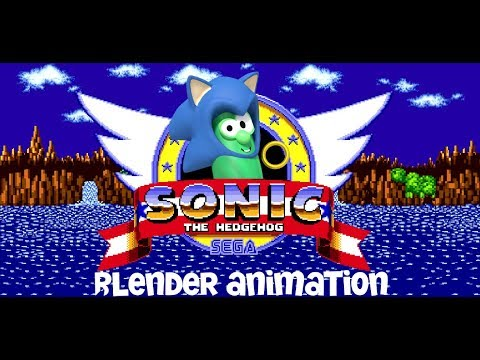 Sonic the Cucumber (Blender Animation)