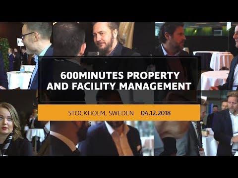 600Minutes Property and Facility Management 2018 in Stockholm, Sweden