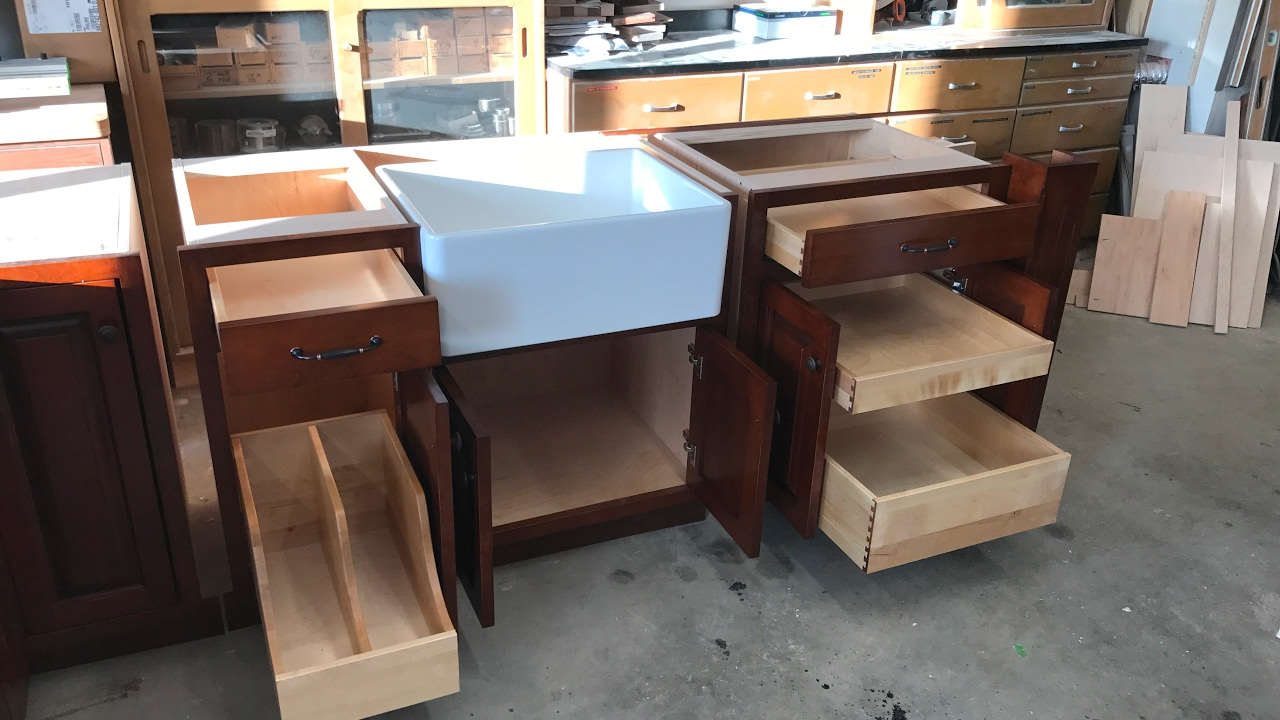 Wood Working Kitchen Cabinets Final Video 5