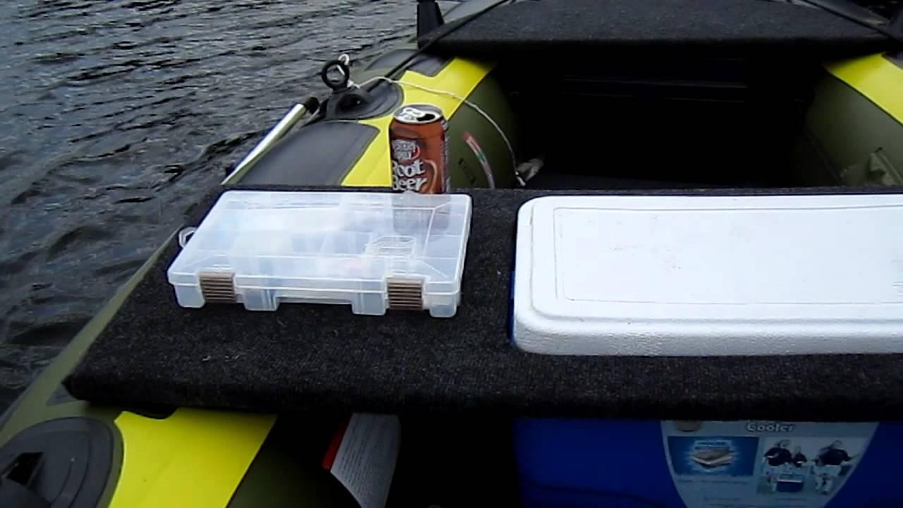 Sevylor fish hunter hf360 customized part1 55lb thrust for Sevylor fish hunter 360