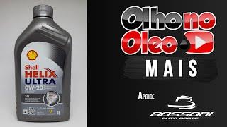 Olho no Óleo Mais - Shell Helix Ultra 0W20 - Honda