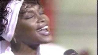 Whitney Houston sings the National Anthem -- Star Spangled Banner