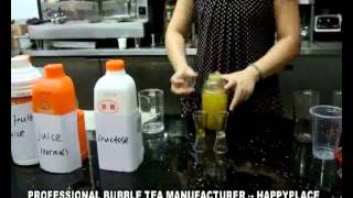 how to make bubble tea? bubble tea recipe