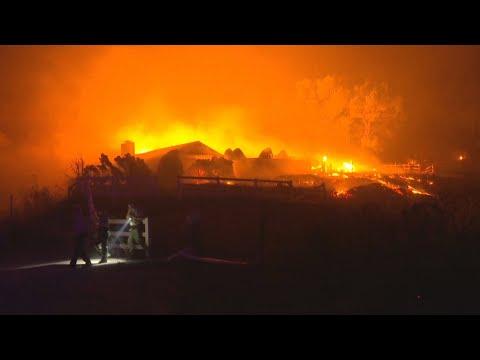 Aumentan a 31 los fallecidos por los incendios de California