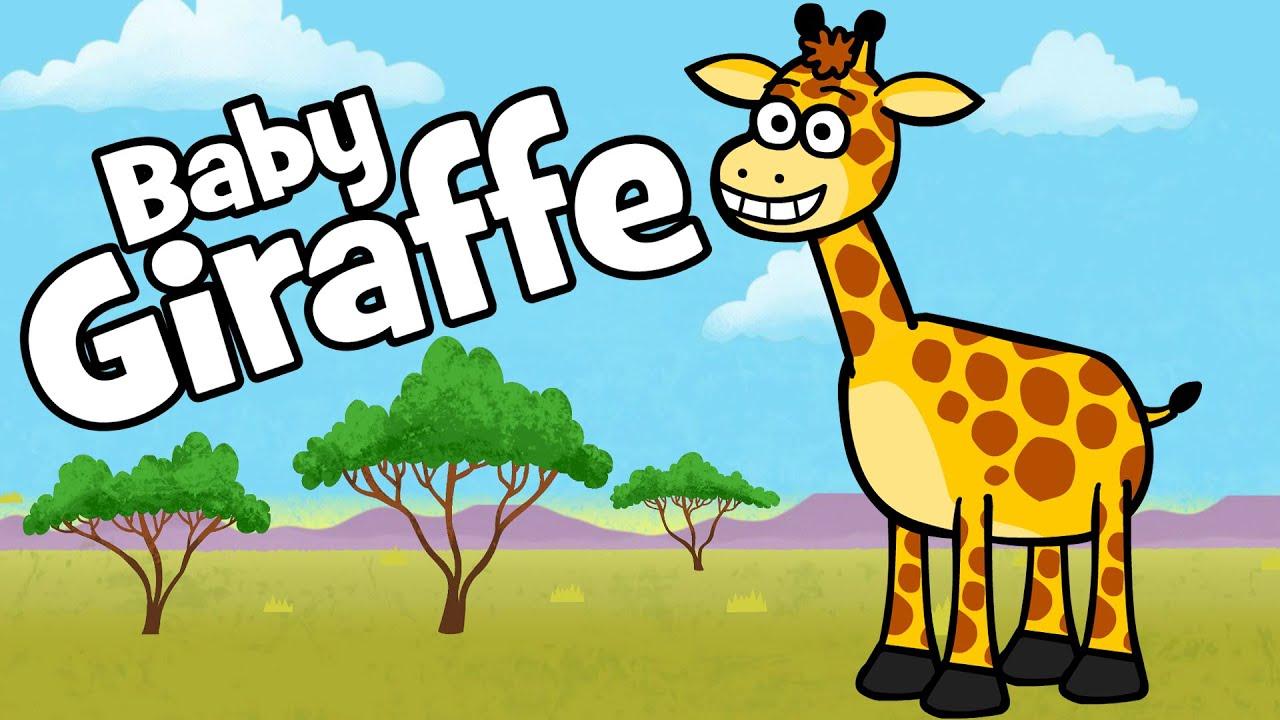 ♪ ♪ Kinderlied Baby Giraffe - Hurra Kinderlieder | Bewegungslied zum Mitmachen