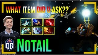 N0tail - Tinker MID | What Item did U ASK ?? | Dota 2 Pro MMR Gameplay #11