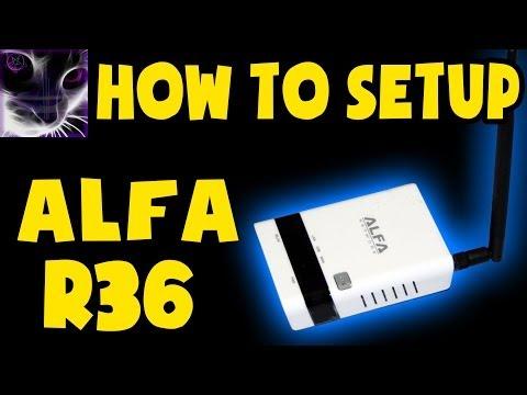 How to Setup Alfa R36 Range Extender / Access Point