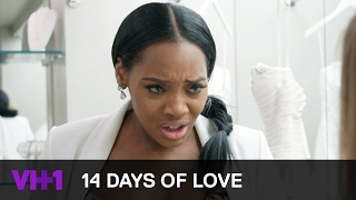 Yandy Smith-Harris Tries On Wedding Dresses | 14 Days of Love | VH1