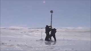 Приколы на зимней рыбалке!