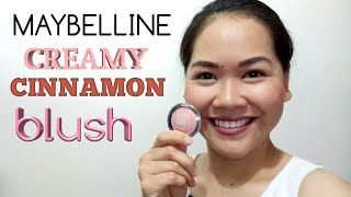 Creamy Cinnamon blush by Maybelline