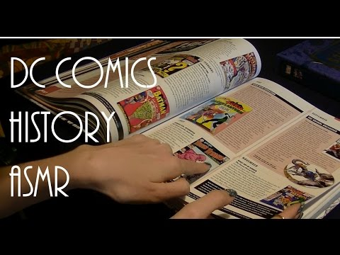 DC Comics 'Year by Year History' (ASMR)