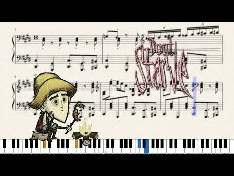 Piano ~ Spring Cleaning (Don't Starve BGM)