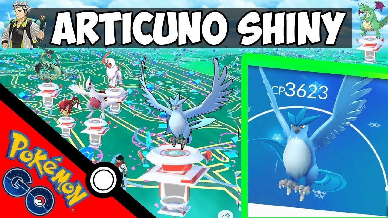 Raids En Busan En Busca De Articuno Shiny Pokemon Go Con Joystick