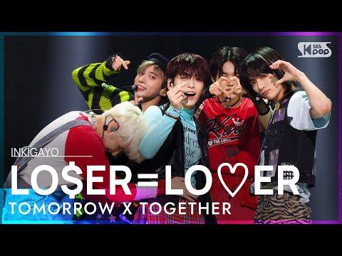 Download TXT(투모로우바이투게더) - LO$ER=LO♡ER @인기가요 inkigayo 20210829