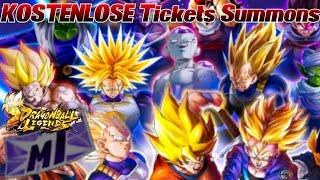 KOSTENLOSE Tickets Summons! ;D Haben wir Glück? | Dragon Ball Legends Deutsch